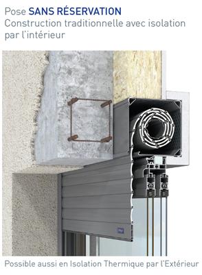 bloc baie rupture de pont thermique brpt profalux pro profalux pro. Black Bedroom Furniture Sets. Home Design Ideas