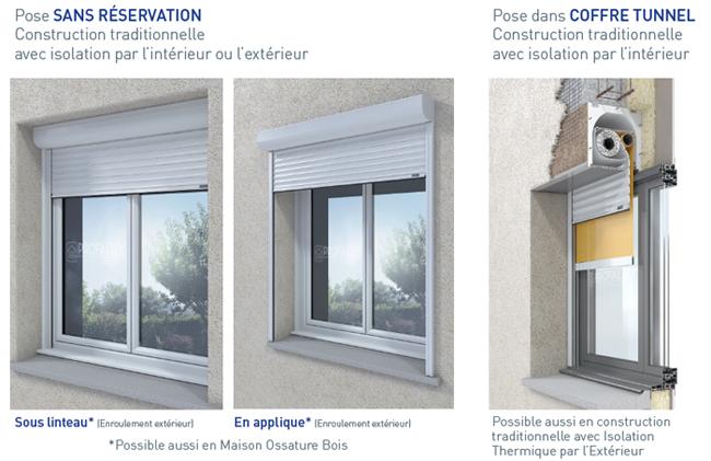 visio avec store vertical profalux pro profalux pro. Black Bedroom Furniture Sets. Home Design Ideas