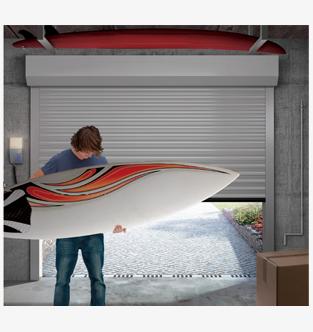 Porte de garage enroulable castellane profalux pro for Tbs pro porte de garage